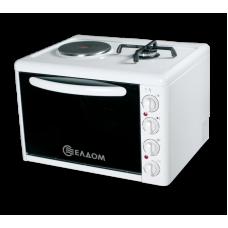 Малка готварска печка Елдом МГП 213 VFЕ