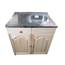 Кухненски шкаф с мивка 80 х 60 с дясно корито