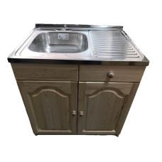 Кухненски шкаф с мивка 80 х 60 с ляво корито