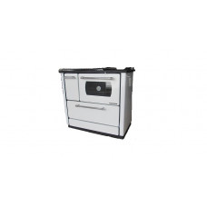 Готварска печка на твърдо гориво Анатолия бяла